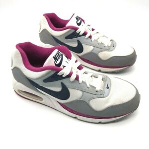 Nike-Womens-Air-Max-Correlate-Running-Shoes-White-Plum-511417-101-Trainers-8-M
