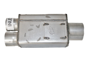 "SPINTECH SPIN TECH MUFFLER  Stainless Steel 3/"" Single in Dual 2.5/"" out"