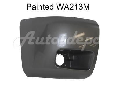 Painted WA213M Front Bumper End Cap RH w//o Fog Hole For 2007-2013 Silverado 1500