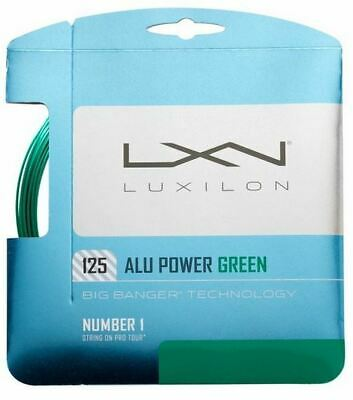 (1,80 €/m) Luxilon Alu Power Green 125 12,2 M Corde Tennis- Fabbricazione Abile