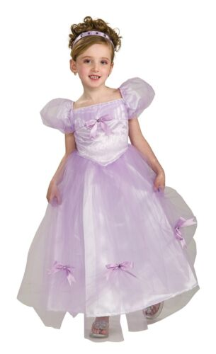 Crystal Fairy Princess Purple Pixie Dress Up Halloween Child Costume w//Wings