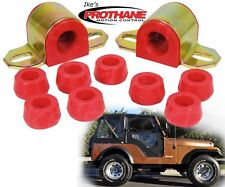 "Prothane 1-1110 Front 7/8"" Sway Bar & End Link Bushing Insert Kit Jeep CJ5/CJ7"