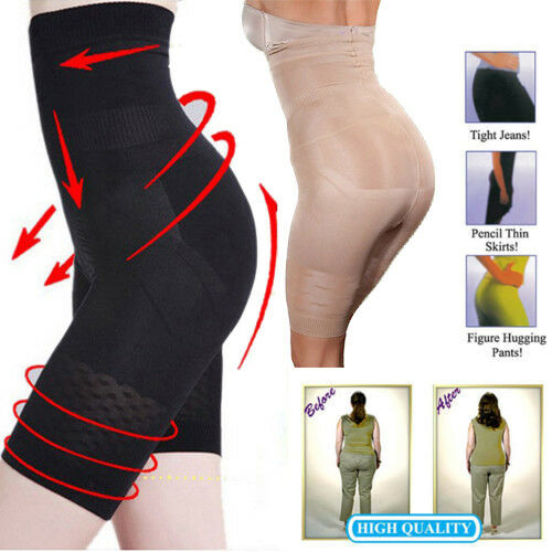 Women/'s Higher Power High Waist Mid Thigh Pants for All Day Comfort Body Shaper