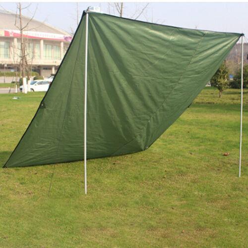 Waterproof Tent Tarp Rain Sun Shade Hammock Shelter Camping Picnic Pad Mat UK