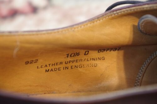 ffceb7c7c3f 5 of 6 Mens Brooks Brothers Made In England Dress Oxford Right Shoe Only  Amputee