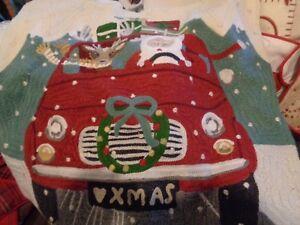 Pottery Barn Christmas Road Trip Santa Reindeer