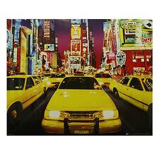 Times Square New York Manhattan Poster Print Wall Art Decor 40 x 50cm (789)