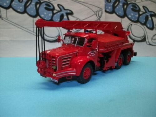 Fire truck camion pompiers bomberos  Berliet TBO 15  França  Ixo//Salvat 1:43