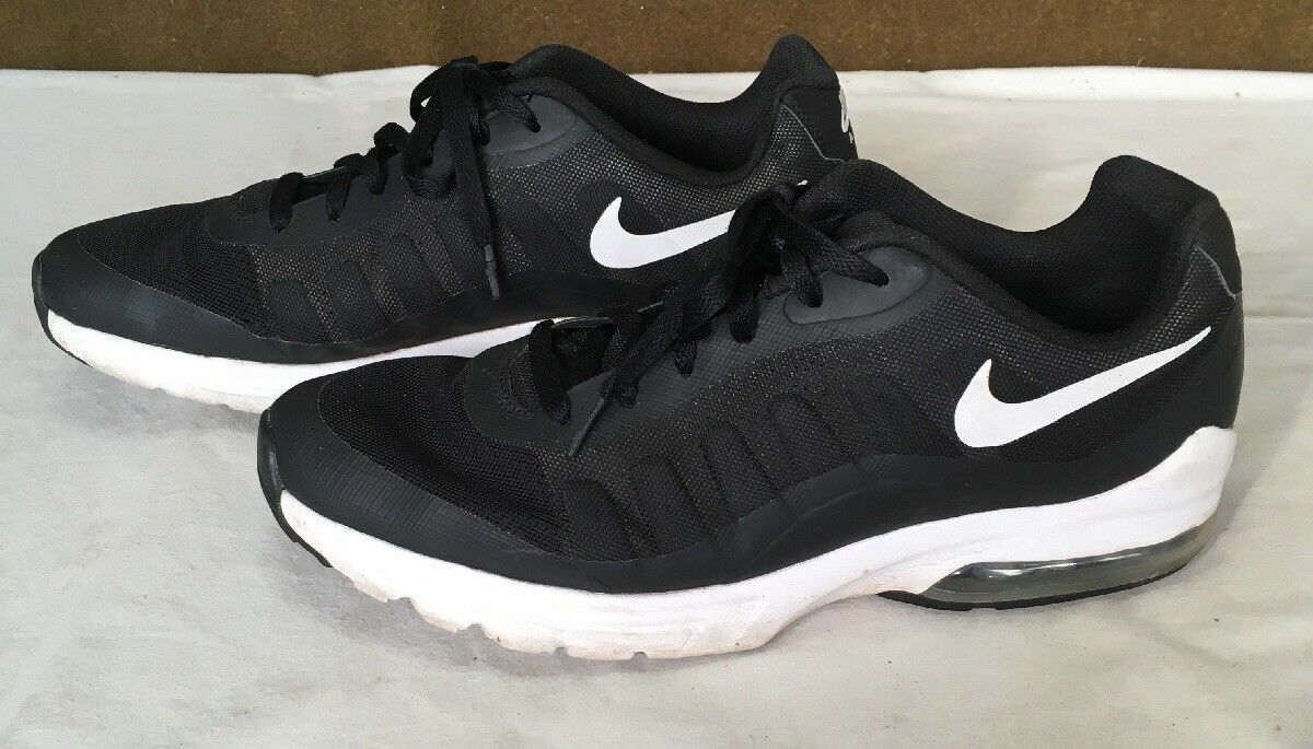 Men's Nike Air Max Invigor Black Running Training shoes Size 11 749680-010