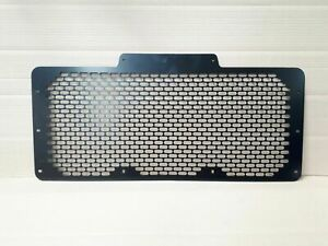 Land Rover Defender 90 / 110 front grill stainless steel 304 marine grade Black
