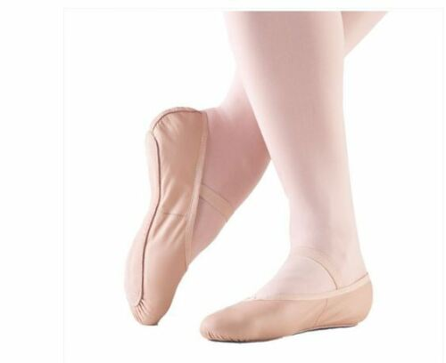 W NEW So Danca Full Sole 3 Colors  Ballet Shoes Soft Leather,N M Childs