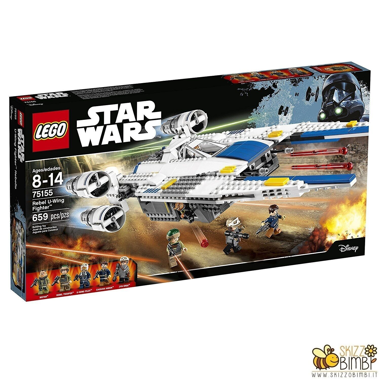 Lego Star Wars Set Costruzioni Rebel U-Wing Fighter