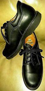 Prospector HAVANA Biowalk Men's Size 8.5 E Black Plain Soft Toe Shoes # 39035
