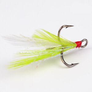 W Fishing Hooks 50pcs Minnow Fi...