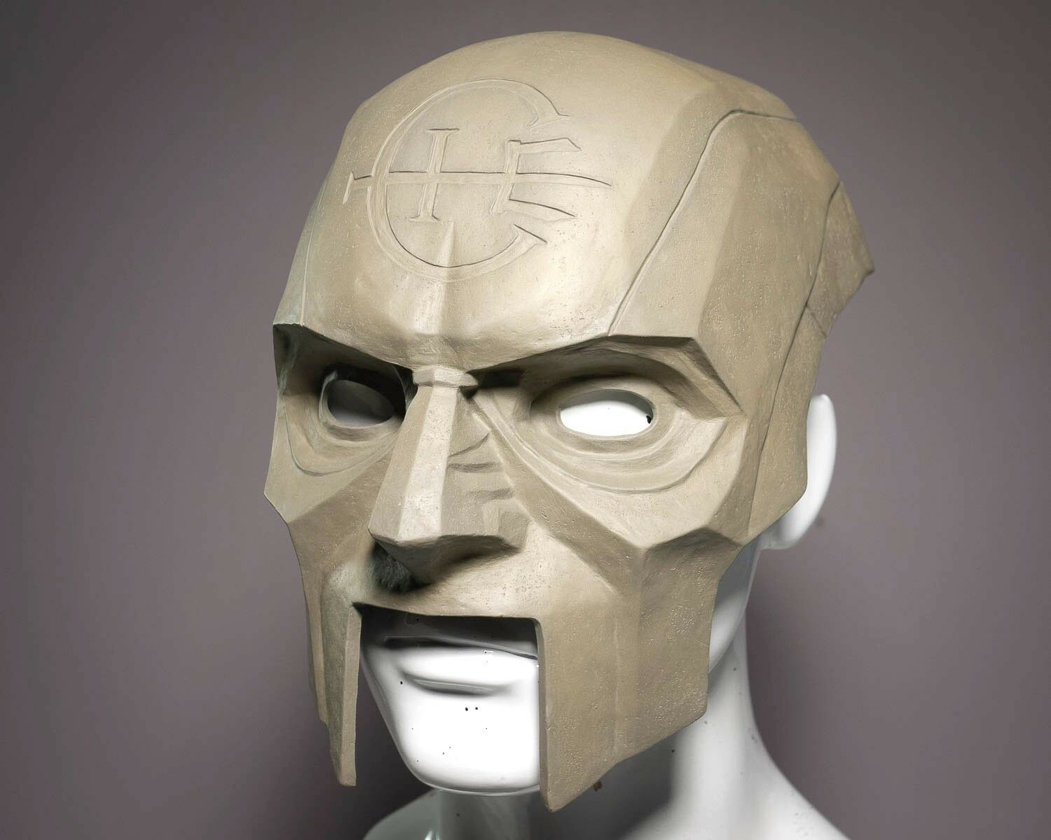 DishonoROT 2 Karnaca Overseer Mask for Costume or Cosplay - DIY Cold-Cast Brass