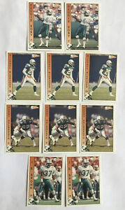 Vintage NFL American Football Dolphin Player Cards 2992 Pacific Team NFL