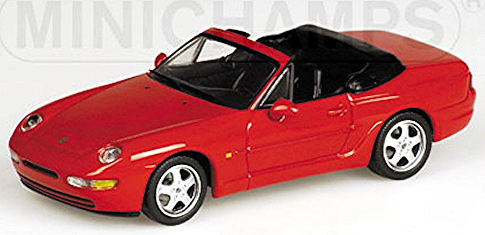Porsche 968 Cabriolet 1991-95 Indischred red 1 43 Minichamps