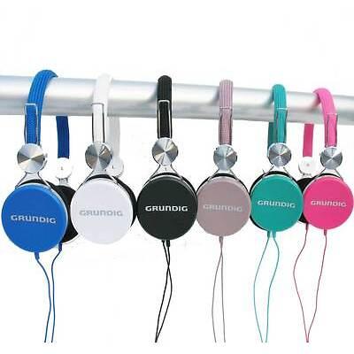 NEU GRUNDIG Stereokopfhörer Kopfhörer für CD TV Heim-Audio & HiFi MP3  DJ