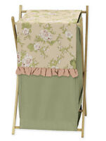 Sweet Jojo Designs Kids Baby Clothes Laundry Hamper For Annabel Floral Bedding