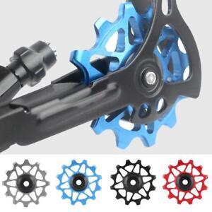 12T-Bike-Rear-Derailleur-Solid-Pulley-Bearing-Jockey-Wheel-for-8-9-10-11-Speed