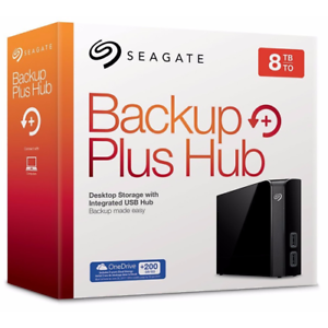 HARD-DISK-ESTERNO-3-5-USB-3-0-8000GB-8TB-SEAGATE-BACKUP-PLUS-HUB-STEL8000200