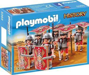 Playmobil-5393-Egipcios-Legionarios-Romanos-History-Egypt-Roma