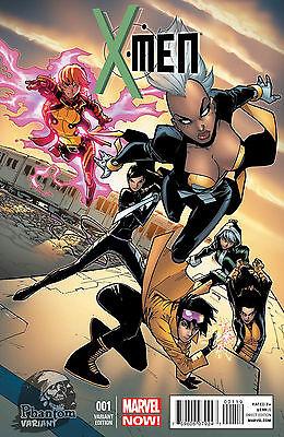 X-MEN 1 PHANTOM RARE COVER VARIANT RAMOS NEW MARVEL NOW NM VOLUME VOL 4 V 001