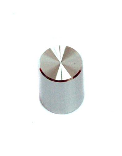 20pc Aluminum Knob For Interlock Push button Switch φ10.4x16mm Hole=3.3mm Silver