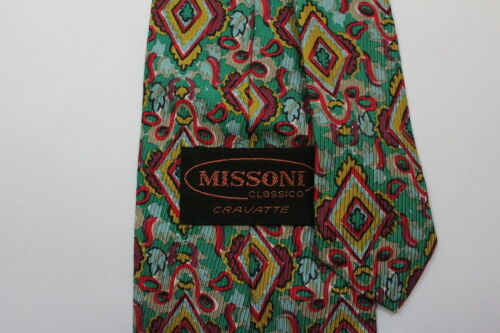 MISSONI MEN S silk neck tie made in Italy -  9.99  8d1cf9859