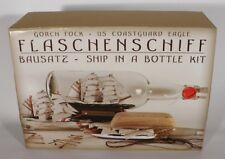 Buddelschiff - Bausatz Gorch Fock / Eagle 0,7 Liter Flaschenschiff Baukasten