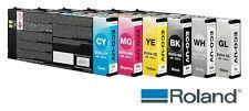6 x Original Tinte ROLAND VersaUV LEC-300 LEC-330 LEC-540 LEJ-640 / EUV3 UV INK
