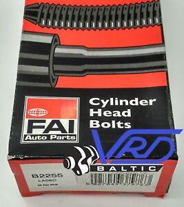 Cylinder Head Bolt Set x10 for VAUXHALL ZAFIRA 1.7 CDTI A17DTJ//A17DTR B FAI