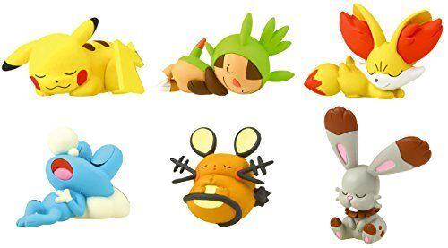 Pokemon Anime Good Night Friends Display Figure Sleeping Series ~ Pikachu @81336