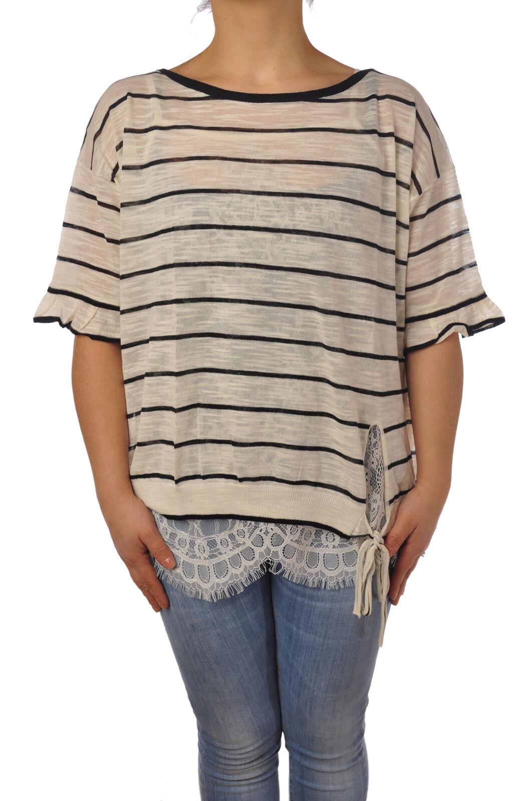Twin Set - Knitwear-Sweaters - Woman - White - 5104829L184406