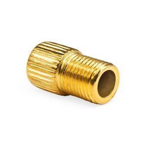 2x Presta to Schrader Brass Bike Valve Adaptors Converter with o-ring Seal