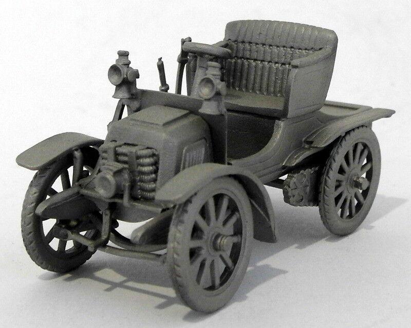 Danbury Mint Pewter Model Car Appx 5cm Long DA53 - 1903 Panhard 7HP