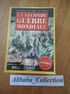 Box-1-LOT-5-DVD-die-zweiter-Krieg-Welt-1939-1940-1941-1942-Luft