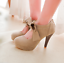 Women-High-Heels-Stilettos-Bowknot-Platform-Suede-Party-Cocktail-Sexy-Pumps-Shoe thumbnail 2