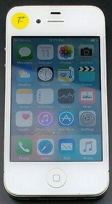 Apple iPhone 4s A1387 16GB *Sprint Only* iOS Smartphone Cellphone WHITE *FAIR*