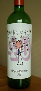 Personalised-Ladies-40th-Birthday-Wine-Bottle-Label-Any-Message