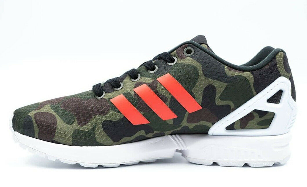 NEW~Adidas ZX FLUX CAMO Running 8000 TORSION 700 Camouflage gym Shoes~Mens Price reduction