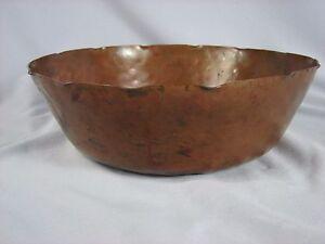 Image Is Loading Antique Stickley Era Arts Amp Crafts Hammered Copper