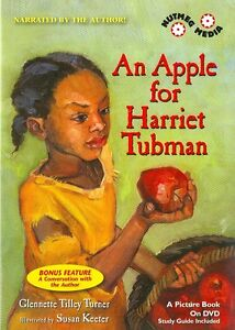 AN-APPLE-FOR-HARRIET-TUBMAN-Glennette-Tilley-Turner-picture-book-DVD