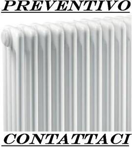 TERMOSIFONE RADIATORE ACCIAIO TUBOLARE \