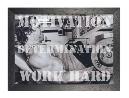 Motivation Determination Work Arni  Motivation Inspiration Quote Poster Gym Fit