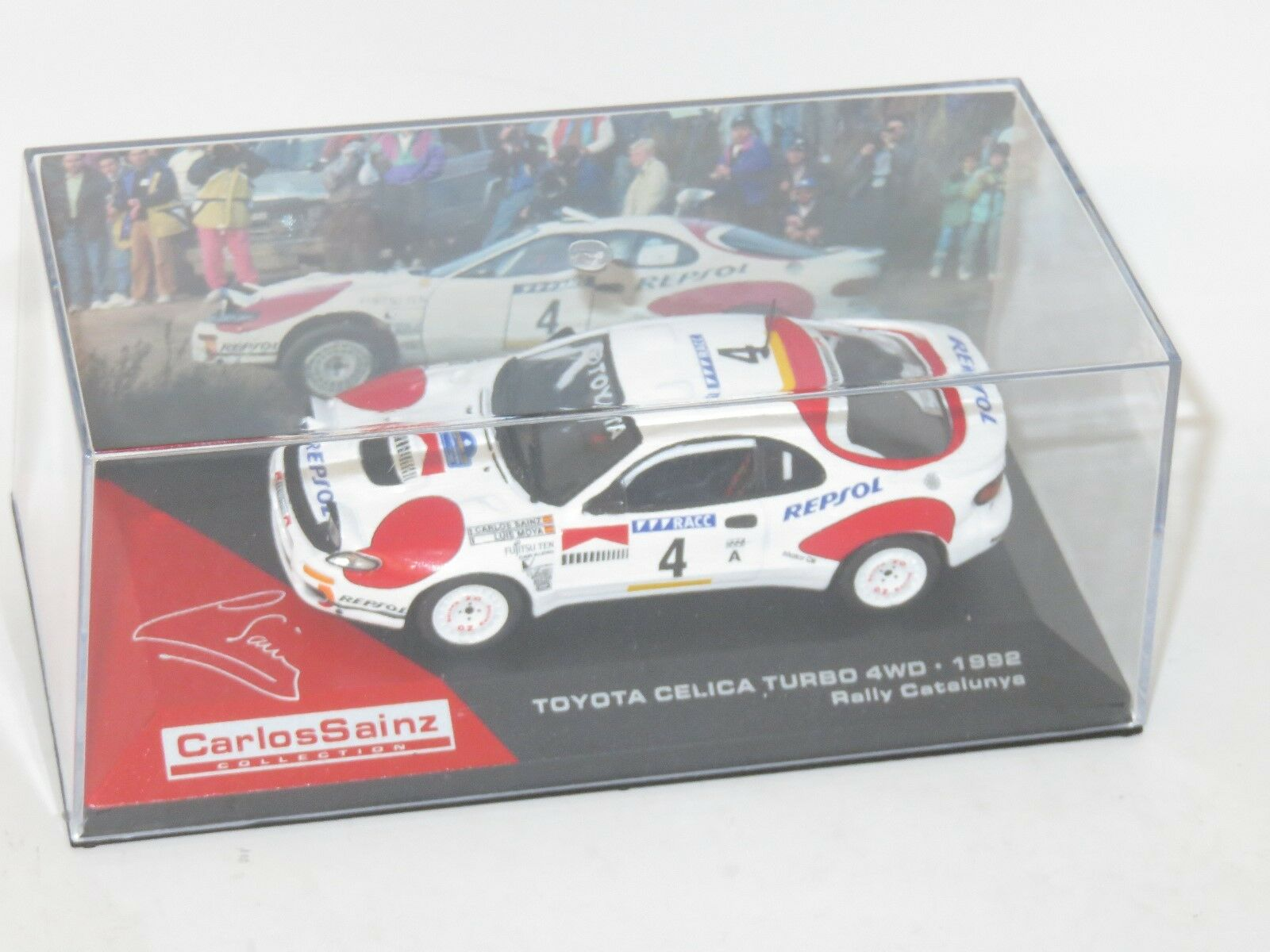 1 43 Toyota Celica Turbo 4WD  Repsol  Rally Catalunya 1992  C.Saniz   L.Moya