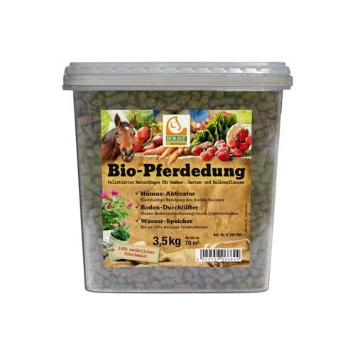 Gartendünger Bio- HORSiT Bio-Pferdedung Pellets Wasser-Speicher 3,5kg Natur-