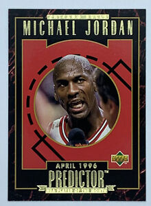 1995 UPPER DECK MICHAEL JORDAN 1996 PREDICTOR CARD #R5