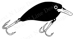 Details about Fishing, Lure, Crankbait, Fishing Lure, Reel, Fishing Decal,  Window Sticker, Car