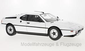 orden en línea Kkdc 120012 120012 120012 bmw m1 (e26), Weiss, 1978, 1 12 KK-Scale  marcas en línea venta barata